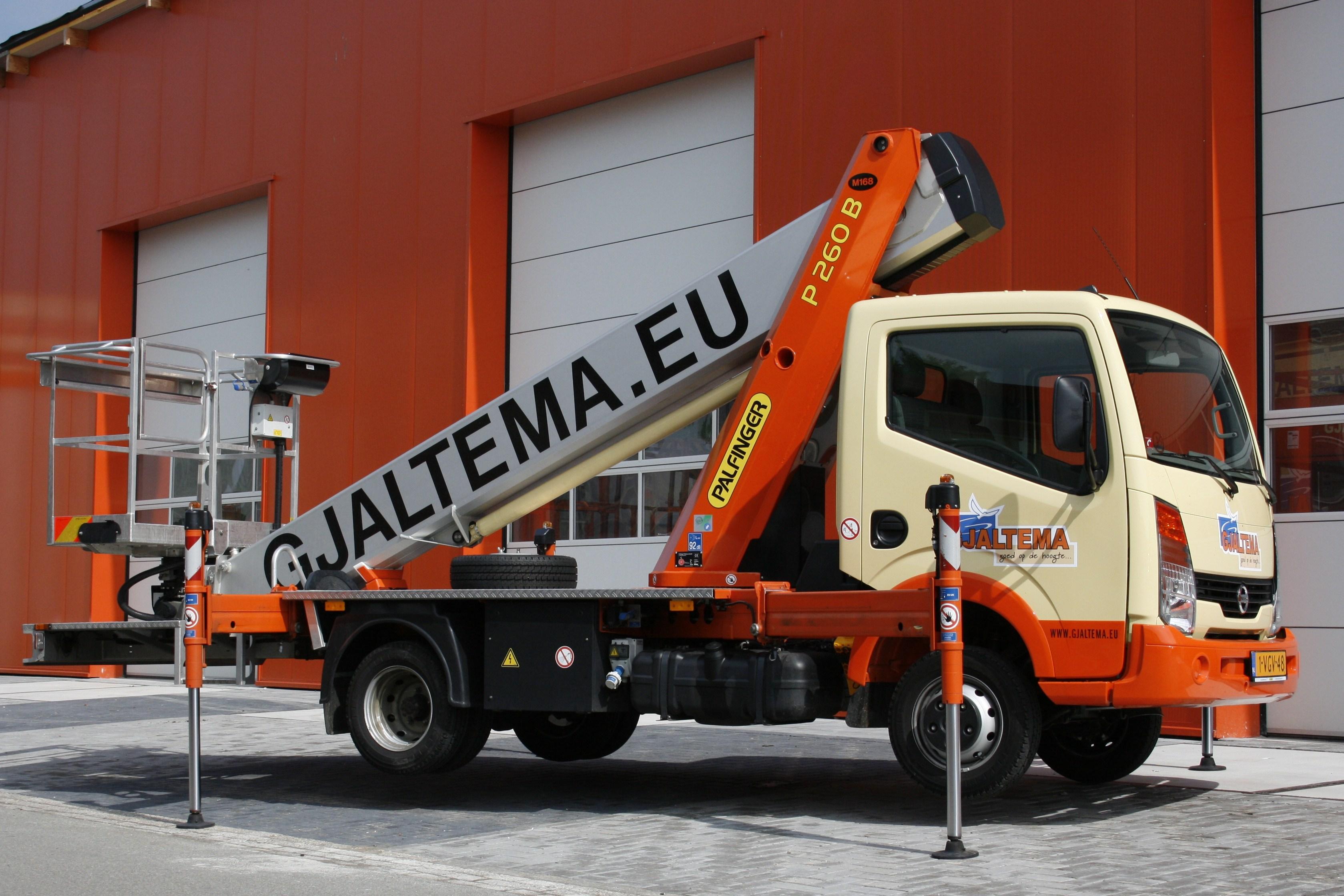 Auto hoogwerkers - Gjaltema Groep